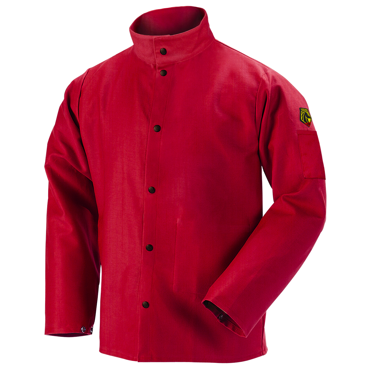 TruGuard™ 200 FR Cotton Welding Jacket, Red